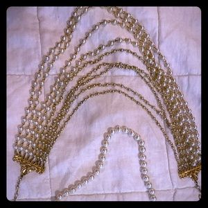 Lot of Two Estate/Costume Faux Pearl Necklaces